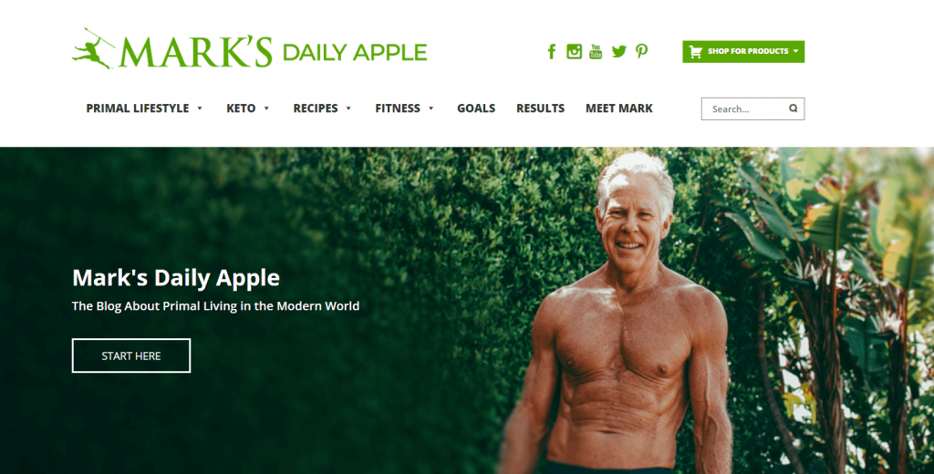 Mark's Daily Apple is a great option for a blog for biohacking.