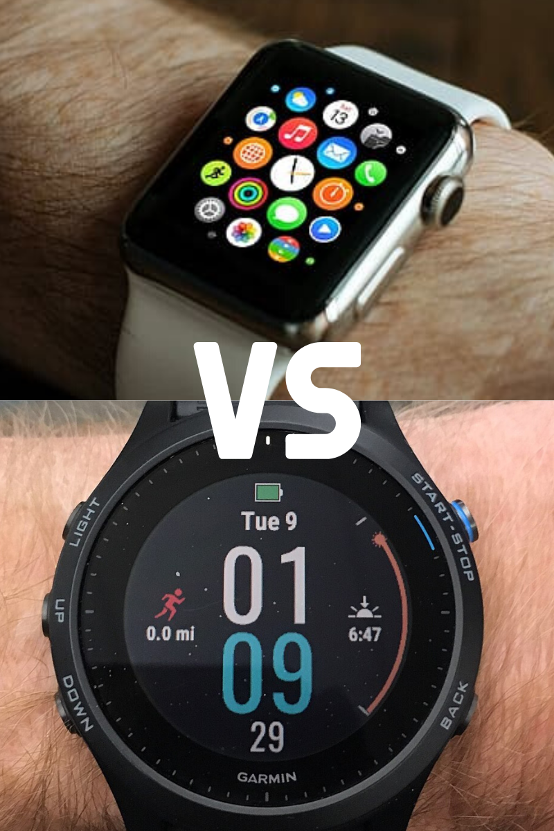 apple watch vs. garmin