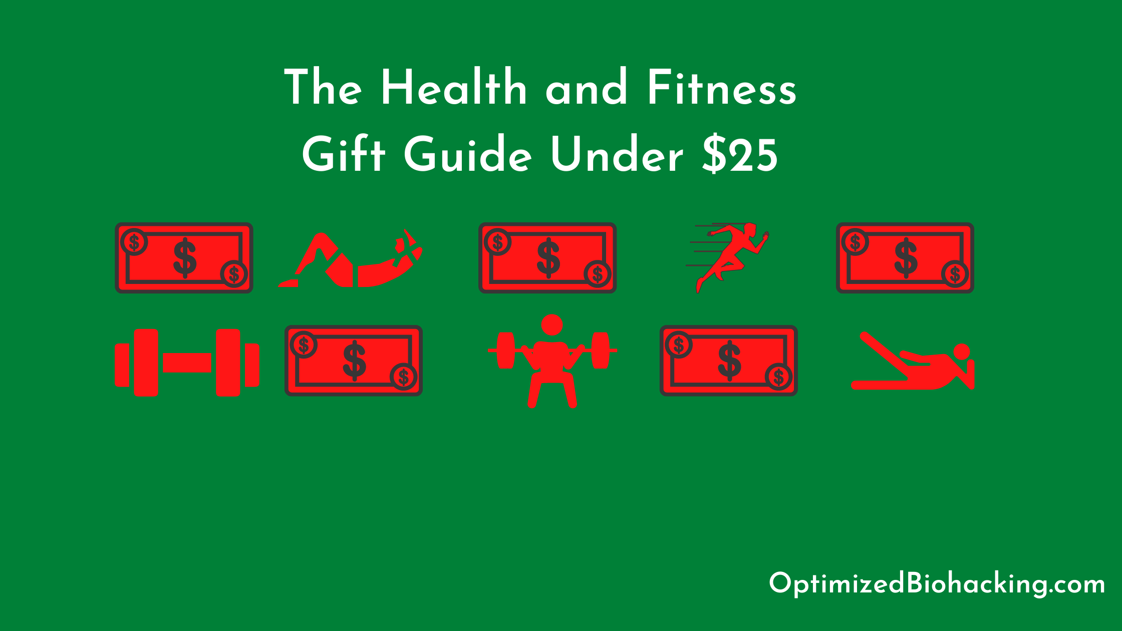 Health and Fitness Gift Guide under $25
